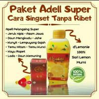paket adell super pelangsing dlemonie n apell super lemon