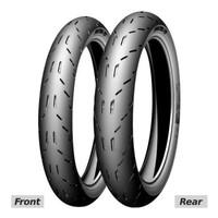 Ban Luar Michelin 90/80-17 Pilot MotoGP Tubeless Bonus Pentil Tubeless