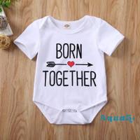 Twins Jumper Romper Baju Bayi Kembar Unisex
