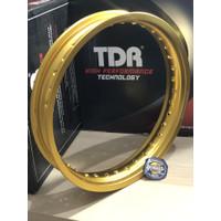 VELG TDR W SHAPE 250 X 17 RING 17 GOLD ORIGINAL TDR