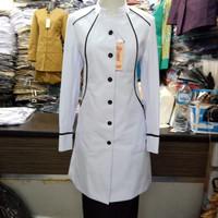 blazer baju kerja wanita seragam dinas hitam putih baju kantor asn