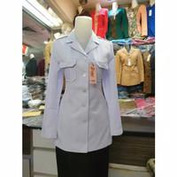 blazer baju kantor seragam dinas ASN PNS baju kerja dinas hitam putih