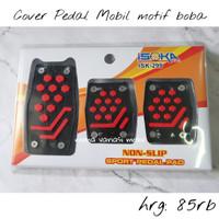 cover pedal mobil manual motif bona agya innova avanza mobilio jazz hr