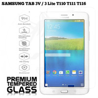 SAMSUNG TAB 3V / 3 LITE T116 Tempered Glass Tablet / Anti Gores Kaca