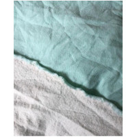 Bahan fleece kaos/kaos fleece/kaos meteran