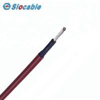 Slocable PV-1F Red Kabel Panel Surya 2.5mm2 Solar Cable Single 14 AWG