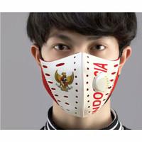 Masker Kain 2 Lapis Respirator Scuba Motif Garuda Indonesia