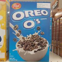 post oreo cereal 311gr post oreo o's Os Sereal USA
