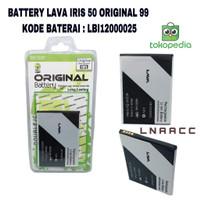 BATTERY BATERAI LAVA IRIS 50 LBI12000025 ORIGINAL 99