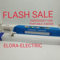 Lampu emergency portable USB/Lampu baca portable 3 mode usb charger