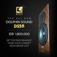 Speaker Monitor Dolphin DS-5A / DS5A / DS 5A MK5