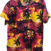 Promo Atasan Pria Baju Bali Motif Hawai Terbaru Random