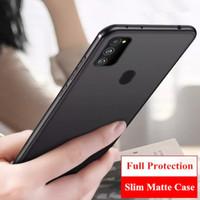 Samsung Galaxy M21 M 21 SoftCase Casing Matte Slim Back Cover
