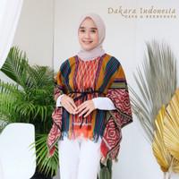 Blouse Mahesa Ethnic Top Tenun Ikat - Dakara Indonesia
