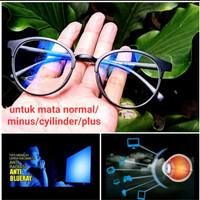 Kacamata anti radiasi blue ray komputer/gadget