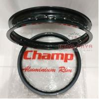 velg velek pelek champ 160/185 ring 14 set sepasang depan belakang