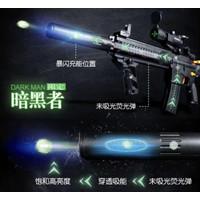suppressor silencer Strobo peredam M416 pubg Lehui Water gel Blaster