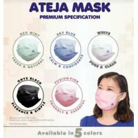 Ateja Mask - 3 ply (5 pcs) All Colors