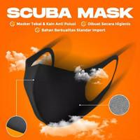 Masker kain scuba / masker non medis - Dewasa