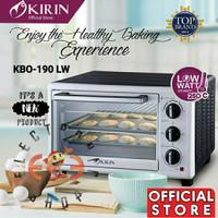 Kirin KBO 190 LW - Oven Listrik 19L- Low Watt - KBO190 - Promo