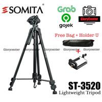 Tripod Kamera Somita ST-3520 / ST3520 Excell Promoss Takara /