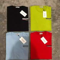 Tshirt balenciaga premium 1:1 original branded merah hitan hijau