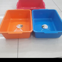 Baskom Kotak Plastik / Bak Kotak Plastik Merek Lionstar BA -18
