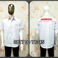 Baju Kemeja Seragam Sales Honda Lengan Pendek