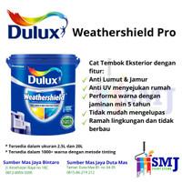 Cat Tembok Eksterior DULUX WEATHERSHIELD warna Morning Star 44539M 20L