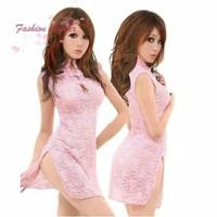 Lingerie Sexy Baju Cheongsam China Imlek