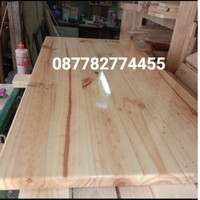 papan kayu jati belanda 40x80cm
