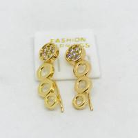 Anting wanita //anting jalar // perhiasan lapis emas //anting