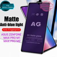 ANTIGORES FULL ANTI BLUE ASUS ZENFONE MAX PRO M1 M2 TEMPERED GLASS SCR