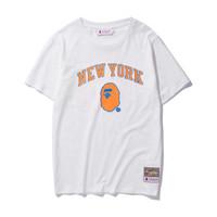 KAOS BASKET NEW YORK KNICKS NBA X BAPE MITCHELL & NESS