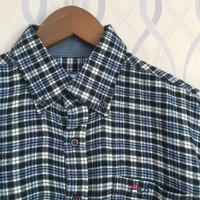 FILA Flannel Shirt / Kemeja Flanel Branded Second Import (FL 191)