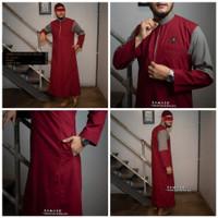baju jubah exclusive M-011 SAMASE