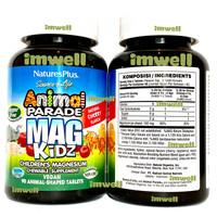 Natures Plus Animal Parade Magnesium Mag Kidz Vitamin Anak (90)