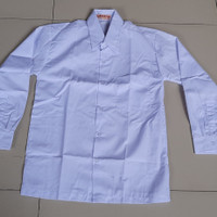 Baju Putih Lengan Panjang SMP SMA Merek Harapan (Seragam Sekolah)