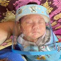 Faceshield Bayi newborn/pelindung wajah bayi /pelindung muka bayi