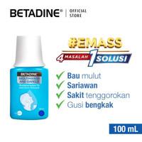 Betadine Gargle obat Sariawan Kumur - 100 ml