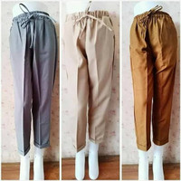 celana merina / celana merina baggy pants / celana doty basic pants