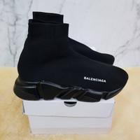 Sepatu Balenciaga Top Speed Trainer Triple Black - Premium Original