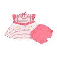 Setelan Bayi Perempuan Ladybug/Baju dan Celana bayi/Atasan Bayi