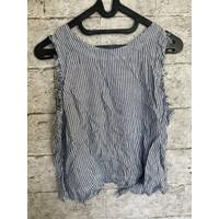 Baju atasan wanita crop top casual FREE SIZE preloved