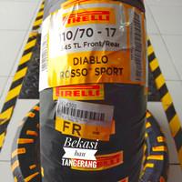 ban Pirelli Diablo Rosso sport ukuran 110/70 ring 17