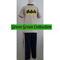 Baju tidur/piyama Bat Short-Long 8/10/12