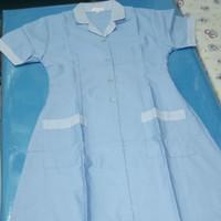 Baju Seragam Suster/Baby Sitter Model Dress