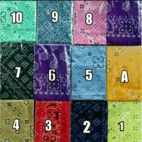 masker slayer/bandana motif batik