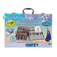 Crayola Disney Frozen Art Case 150+ pieces / Crayon Set Anak