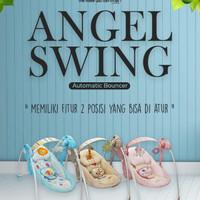 Baby Elle Portable Swing Bouncer Ayunan Electrik Otomatis Bisa Baterai